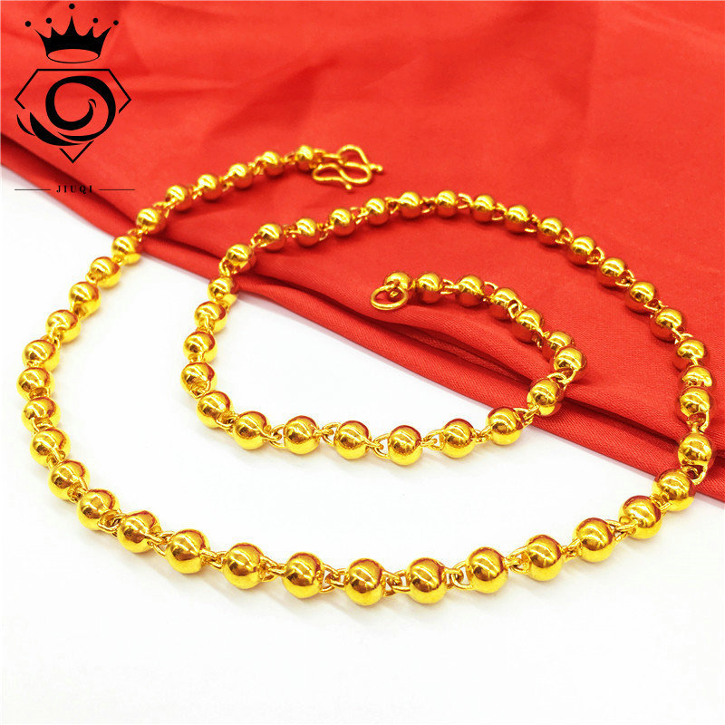 Incredibly Fine Ball Chain Necklace for Minimalistic Formal Activity Outfits