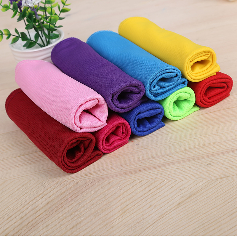 Polyester Absorbent Quick-Cool Wiping Towel