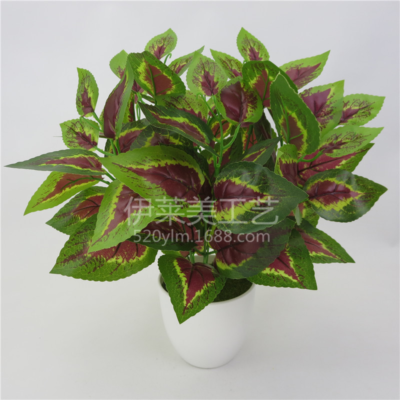 Simulation Green Potted Plant for Indoor Decoration