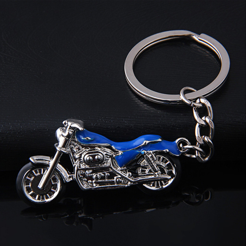 Creative Cool Metal Motorcycle Keychain for Bags Accessories