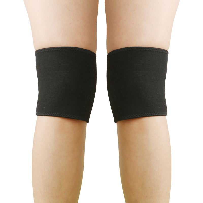 Plain Black Windproof Knee Protection Pad for Cycling