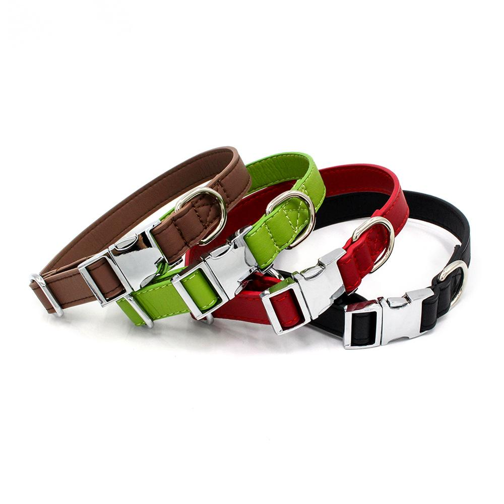 Metal Buckle Dog Collar