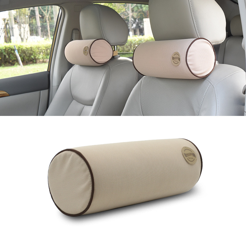Oval-Shaped Car Neck Pillow for Relaxing Trip