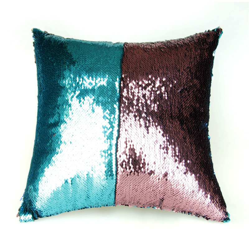 Reversible Sequined Magic Pillowcase for Art Deco Homes