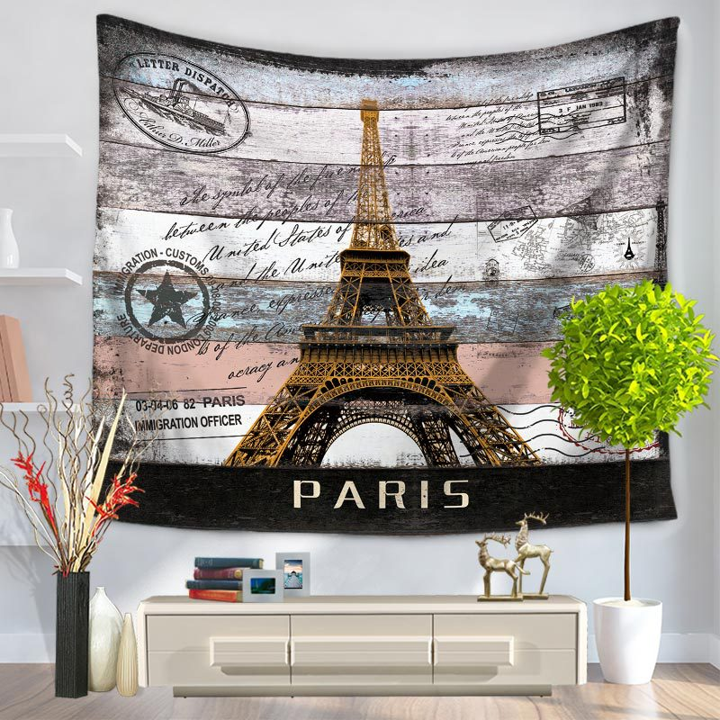 Serene Popular Places-Print Wall Art Decor for Adding Aesthetics to Your Home