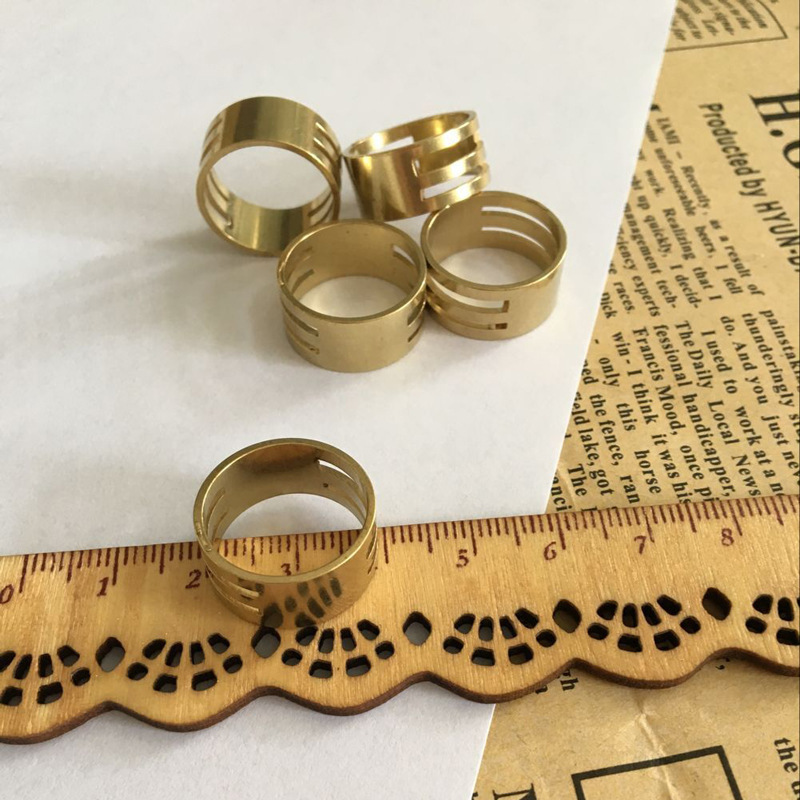 Solidified Copper Ring for Young Gents