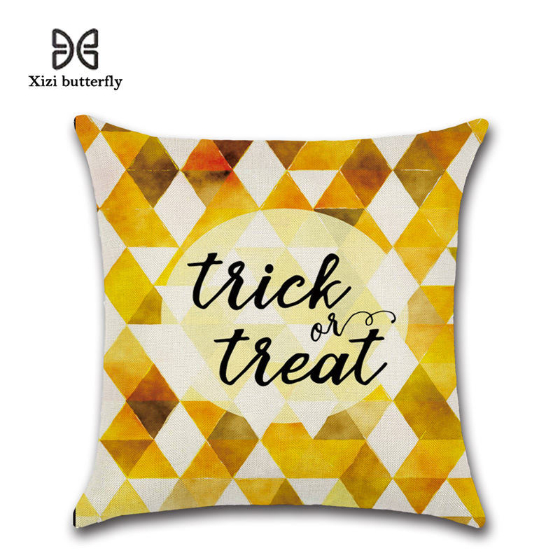 Spooky Trick or Treat-Themed Pillowcase for Halloween Parties