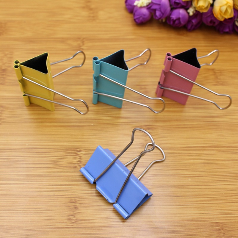 Colorful Binder Clip for Office Supplies