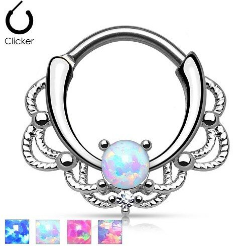 Shiny and Stylish Nose Ring for Wearing to Club Parties