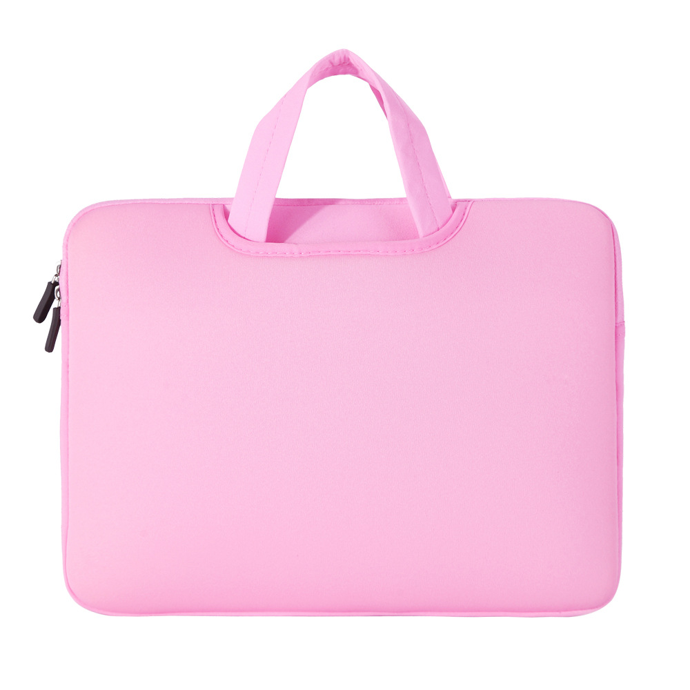 Bright Colored Horizontal Square Shoulder Bag for Laptop and Notebook Storage