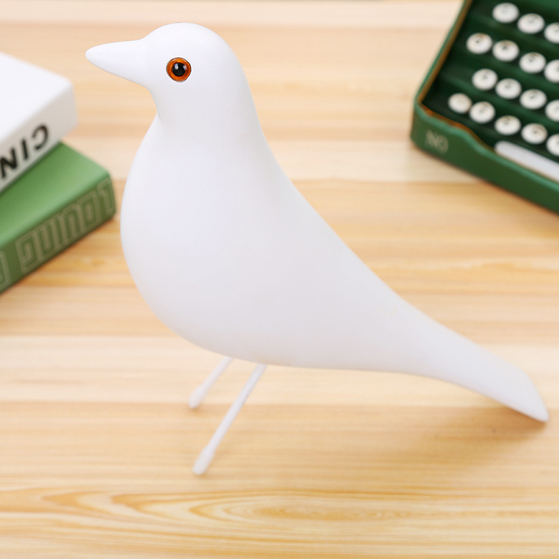 Simple Dove Toy Standee for Aesthetic Room Looks