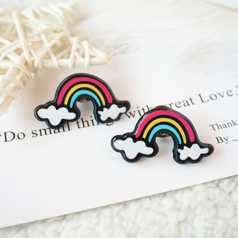 Colorful and Creative Badge for Clothes Styling