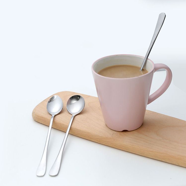 Stainless Long Handle Spoon Typical Use for Mixing