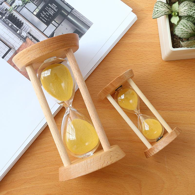 Wooden Stand Hourglass
