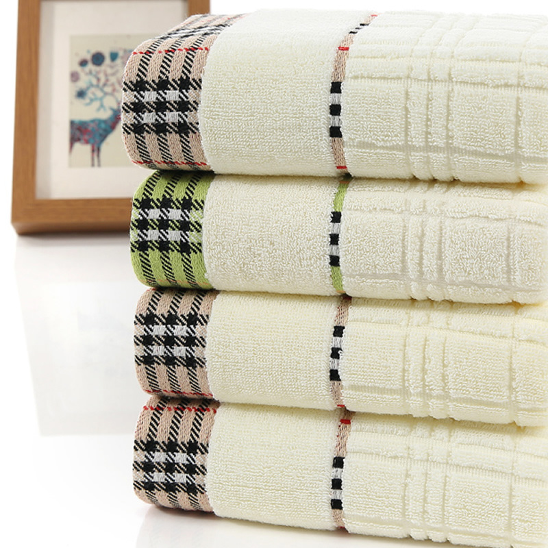 Modern Cotton Bath Towel for Adult Use