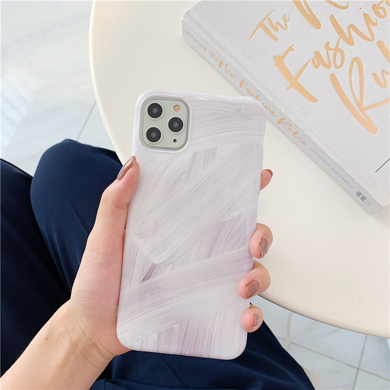 Abstract Paint Strokes iPhone Case