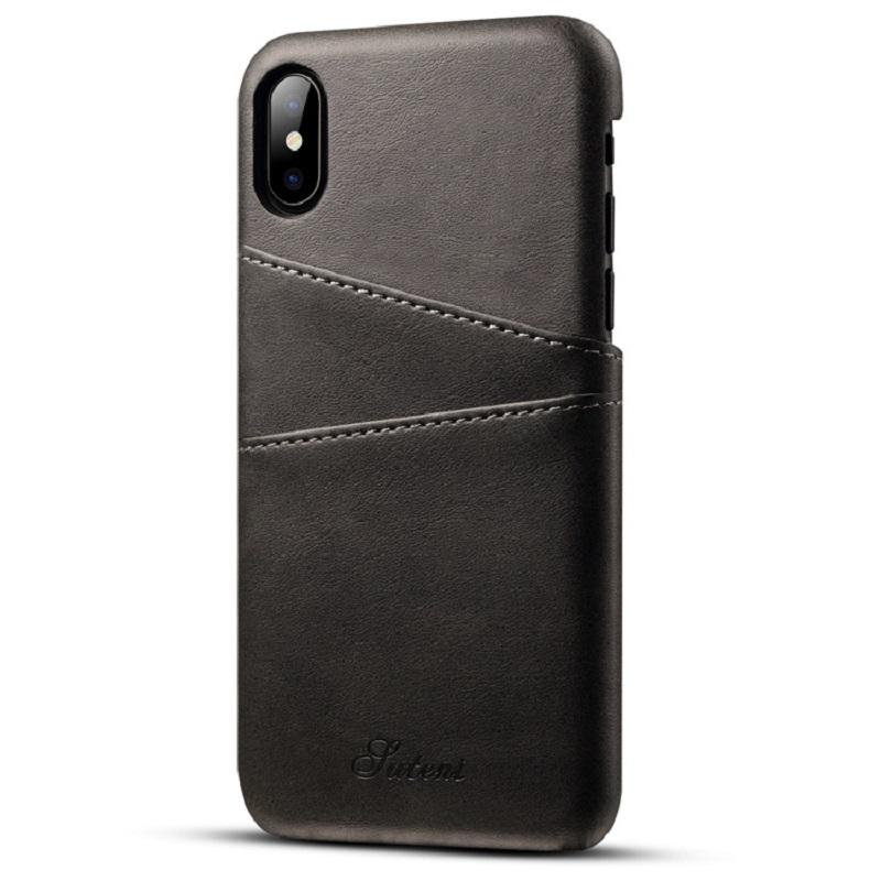 Faux Leather iPhone 10 Case