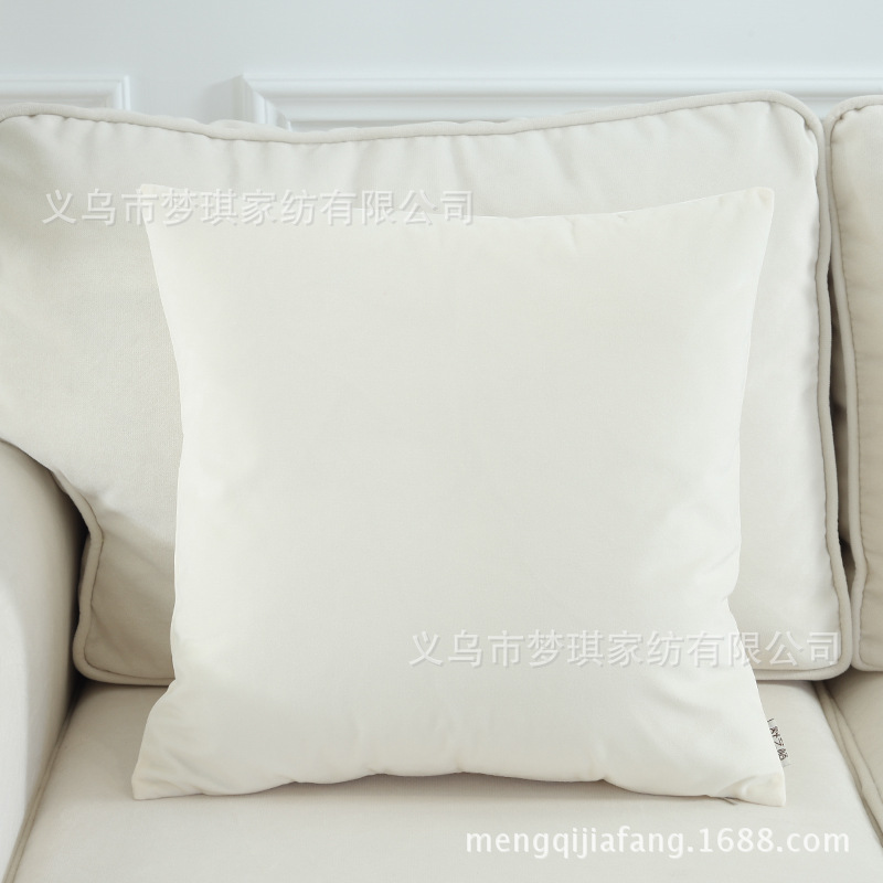 Dainty Colored Throw Pillow Case for Lively Sofa Sets