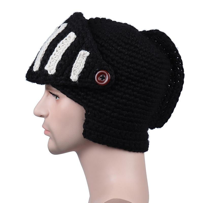 Knitted Gladiator Mask/Hat