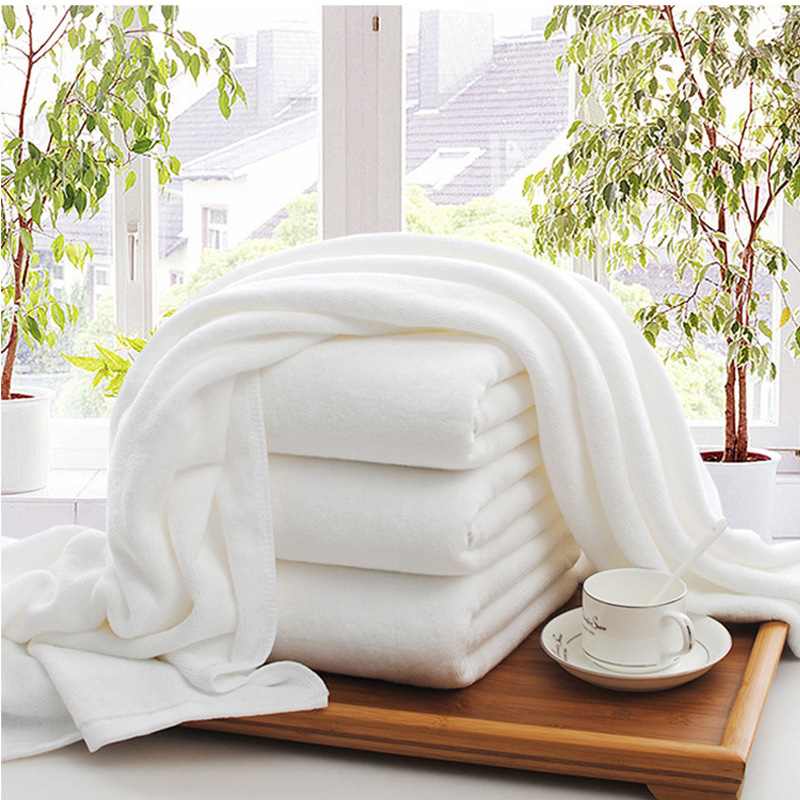 Pure Thick Steamed Bath Towel for Hotel Essentials
