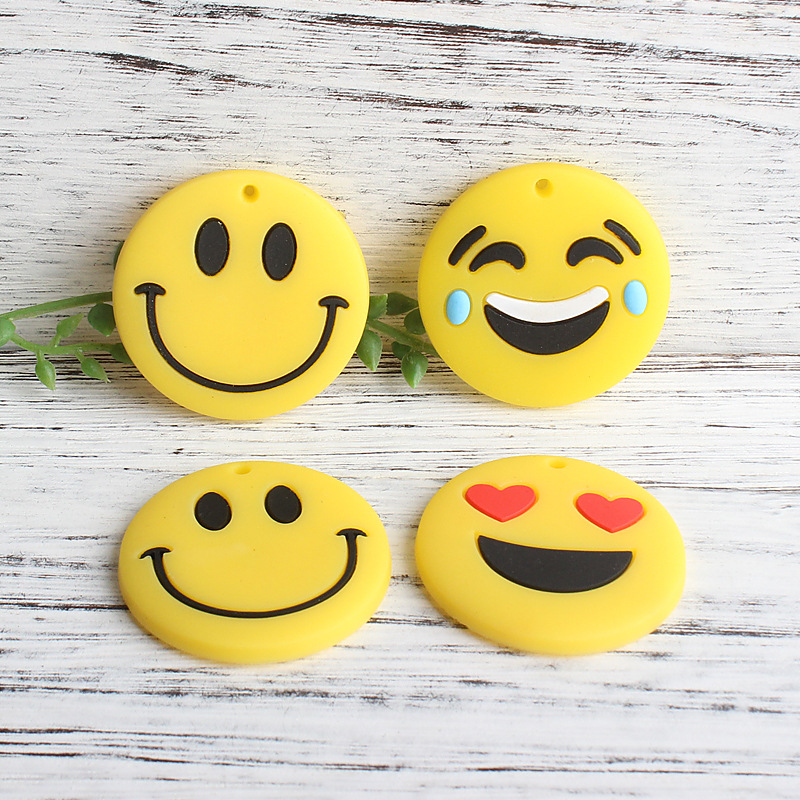 Smiley Face Emoji Strong Decorative Magnet for Home and Organization