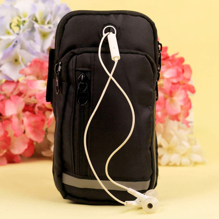 Waterproof Phone Holder Bag with Earphone Hole for Exercising