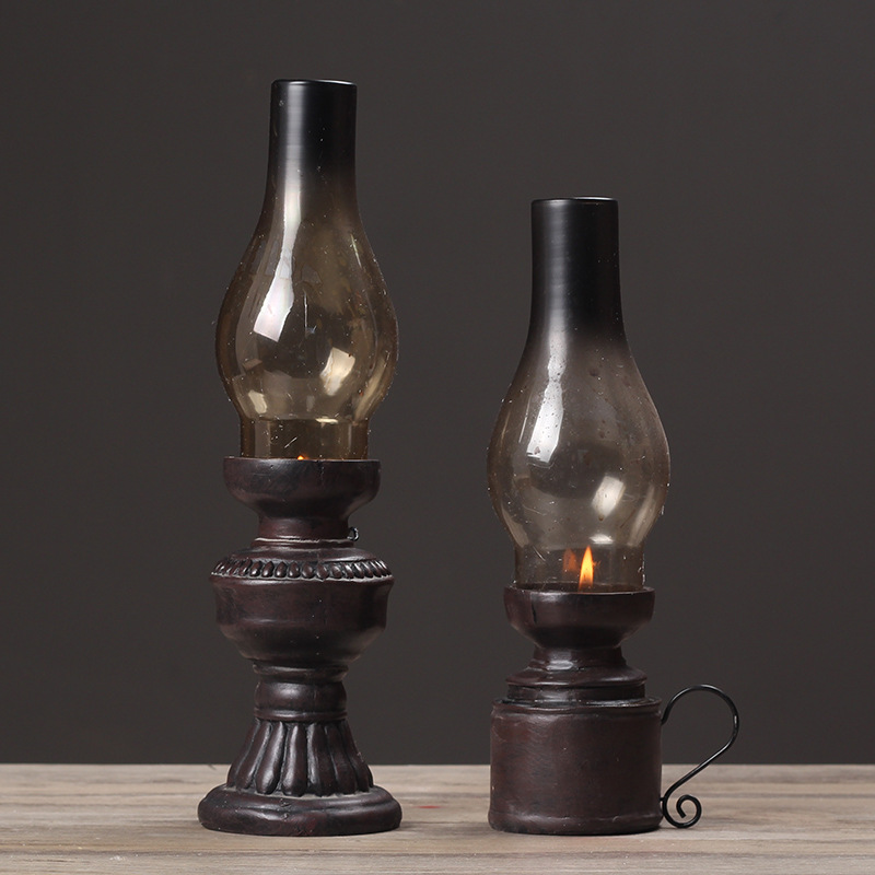 Old-Fashioned Candle Holders for Vintage Decorations