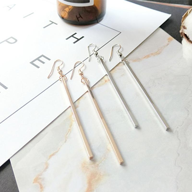 Single Line Long Earrings