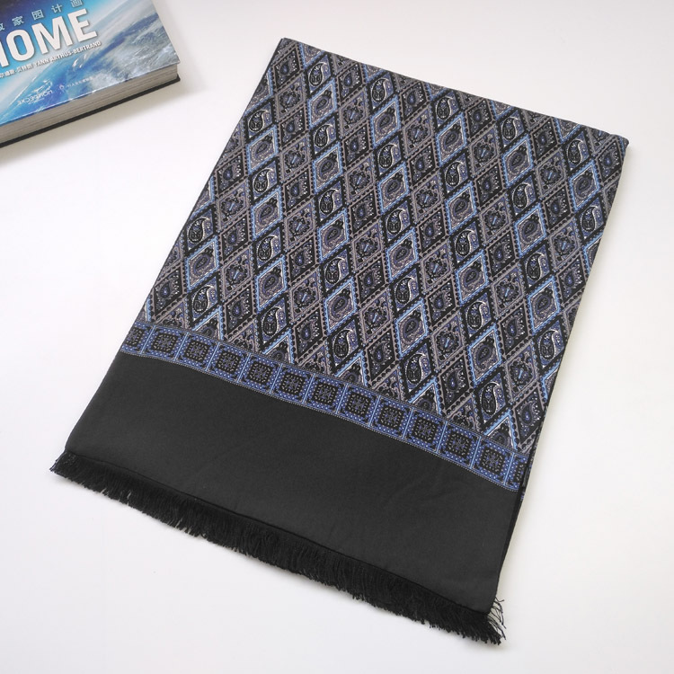 Classic Paisley Pattern Scarf for Travelling Abroad