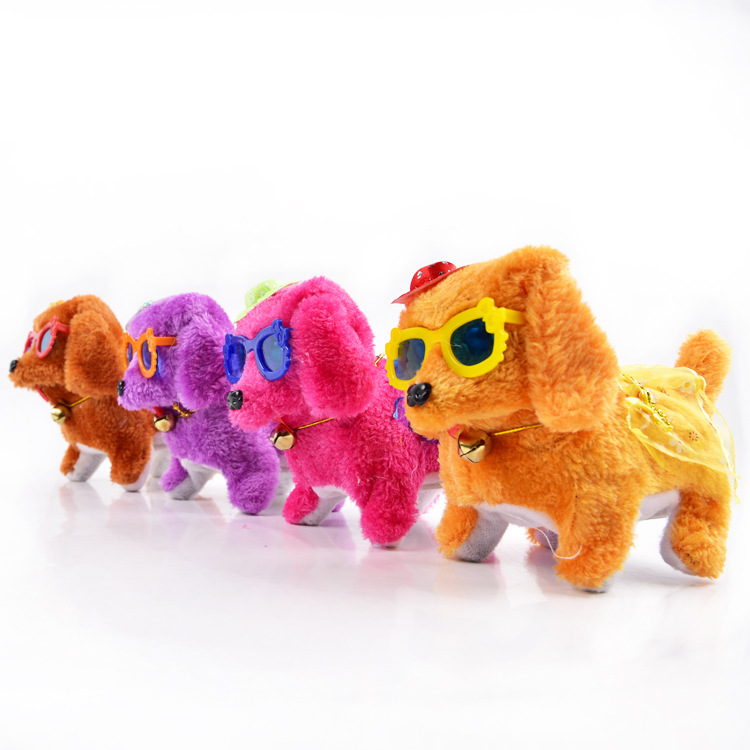 Cute Mechanical Plush Dogs for Kids Toys