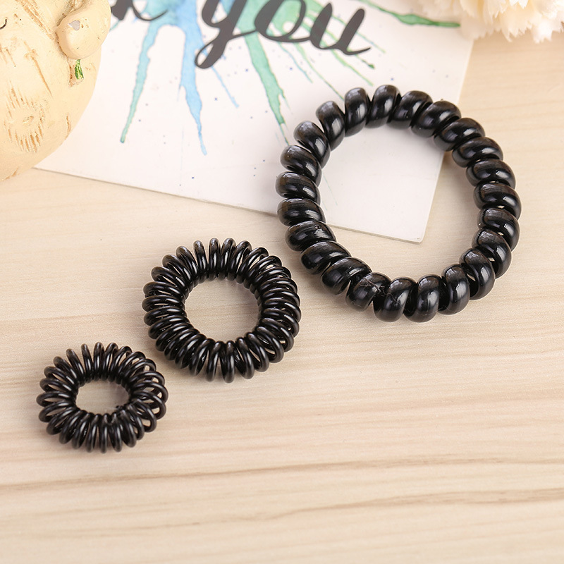 Classic Coil Hair Tie for Any Hair Style