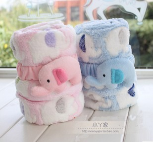 Mini Elephant Blanket for Infants
