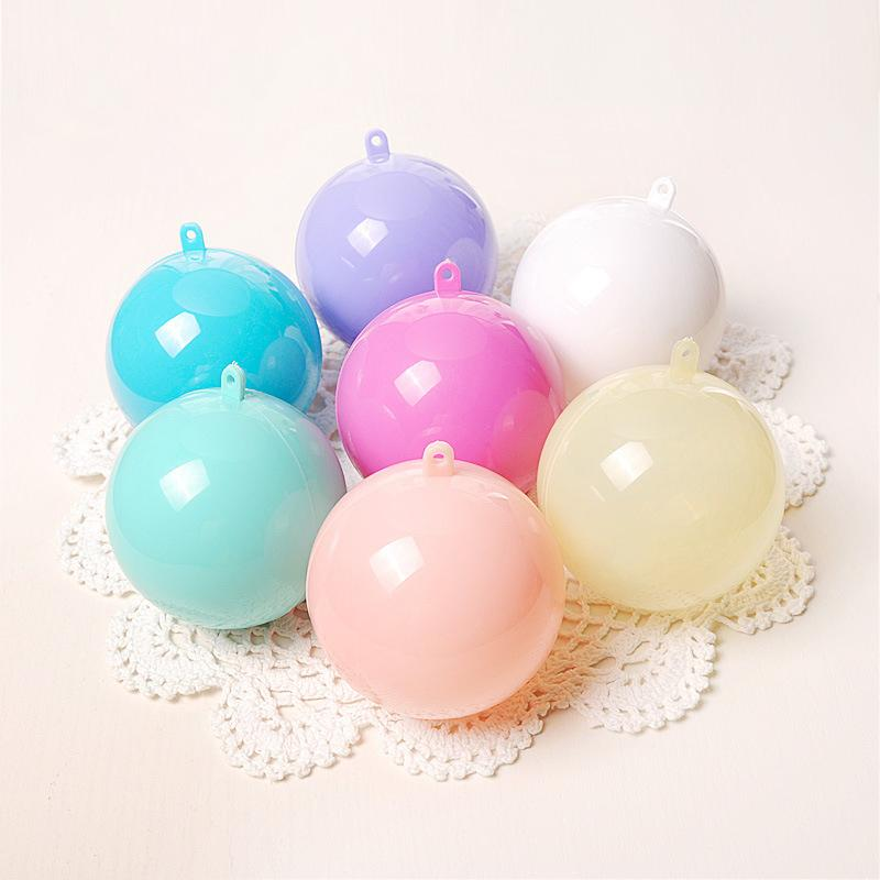 Pastel Colored Hollow Balls