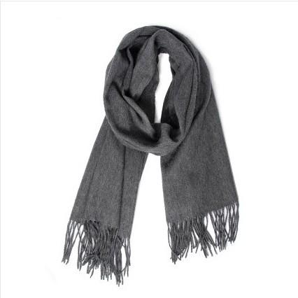 Cashmere Scarf with Tassels