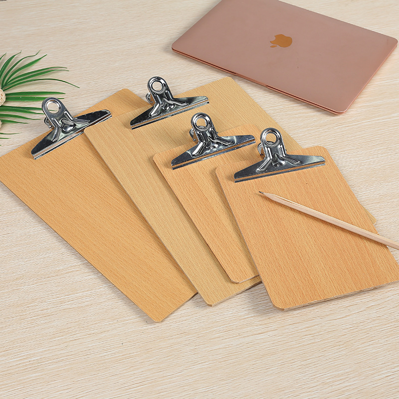 Aesthetic A4 and A5 Wooden Writing Board for Contract Signings