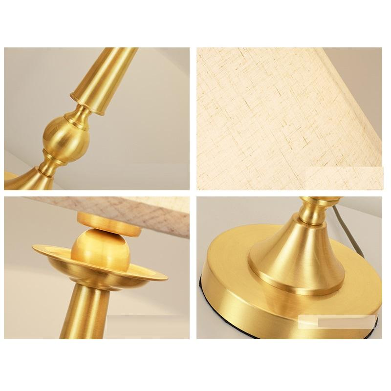 Bronzy Table Lamp