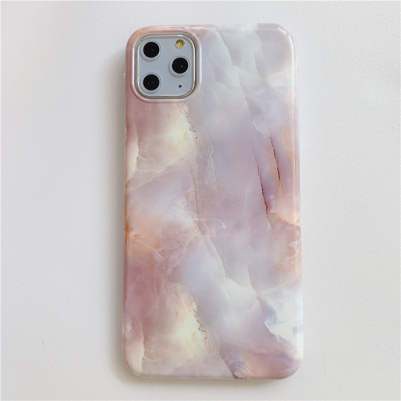Marble Soft Mobile Case for iPhone