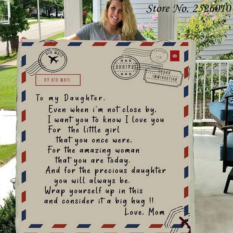 Letter to My Daughter Blanket