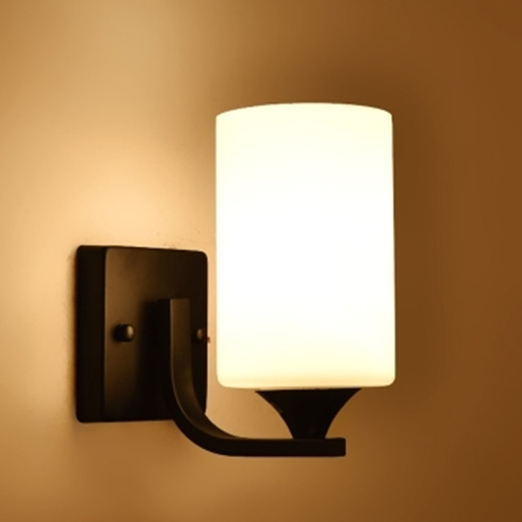 Modern Wall Lamp for Illuminating Rooms and Paths