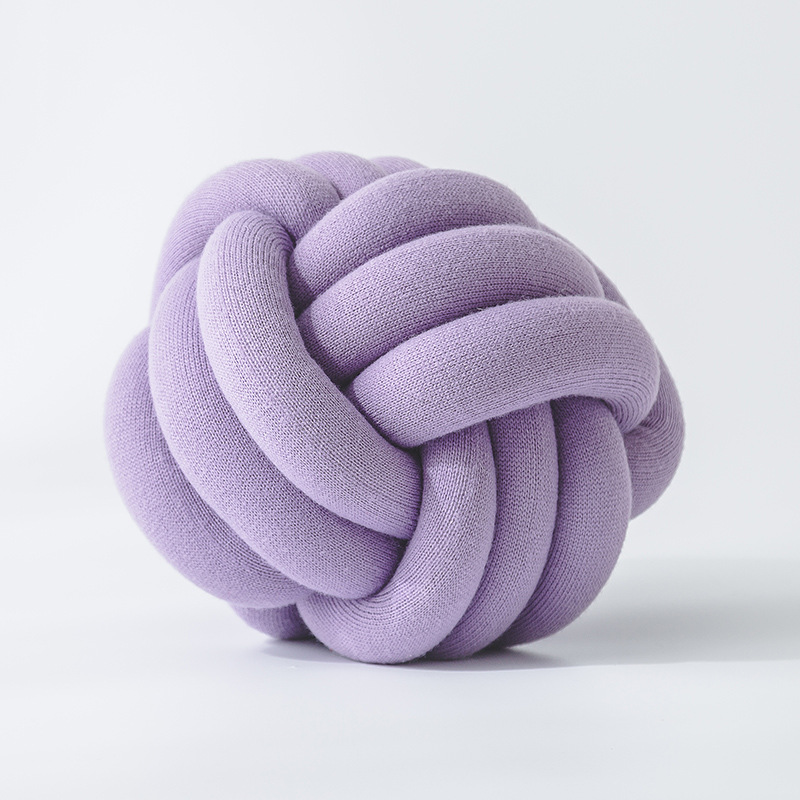 Modern Knotted Pillows for Bedrooms and Lounges