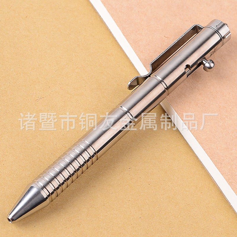 Convenient Alloy Tactical Pen for Outdoor Safety