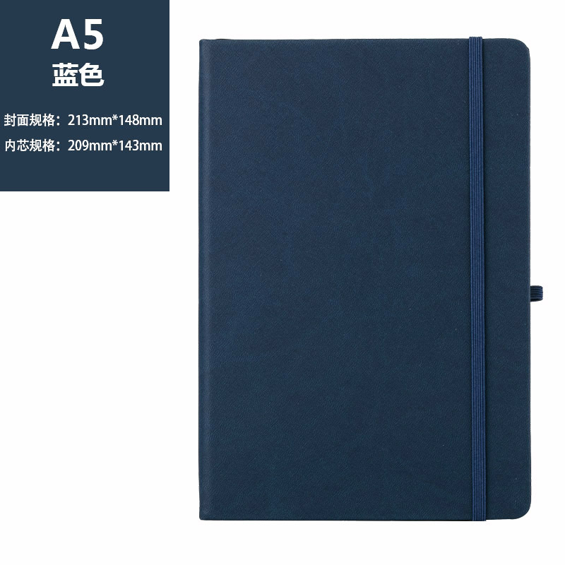 High-Quality A5 Faux Leather Notebooks for Organized Meeting Notes