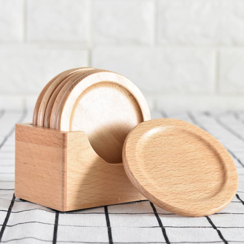 Wilheim Wooden Coasters