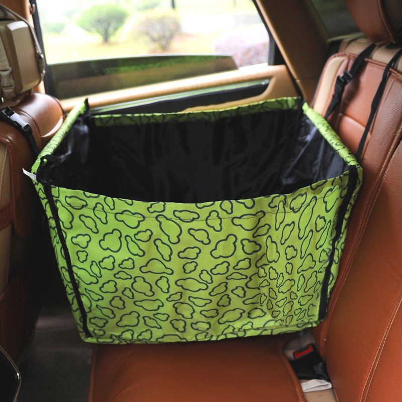 Waterproof Foldable Plain/Patterned Car Mat for Travelling with Pets