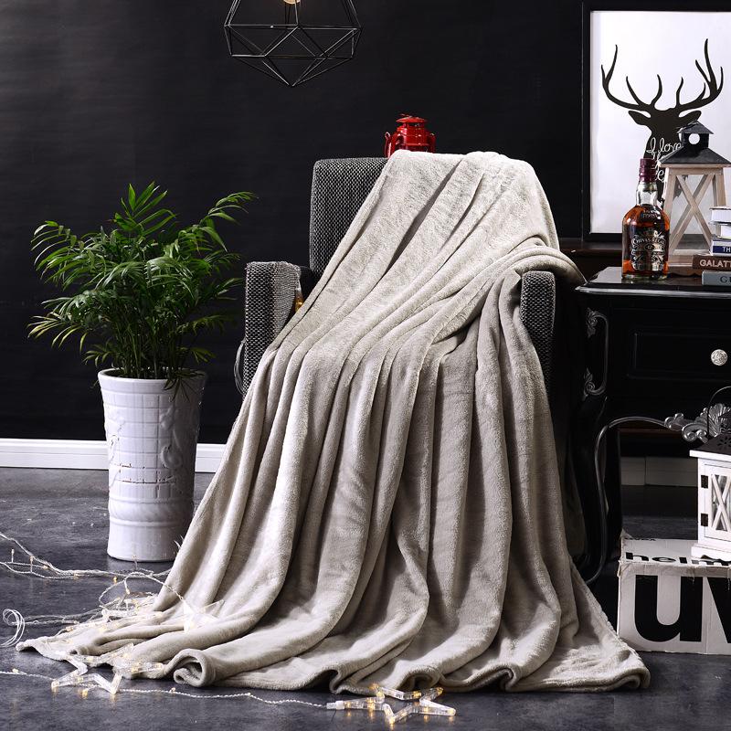 Polyester Fiber Colored Blanket