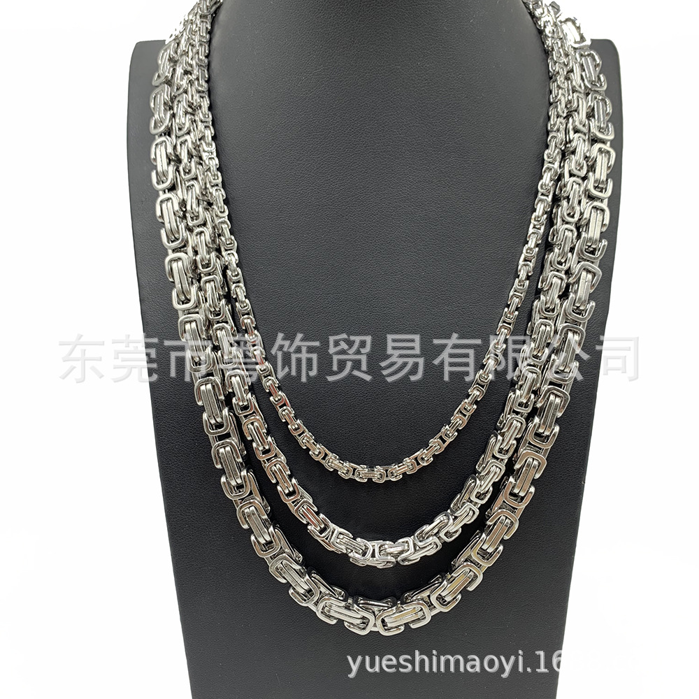 Ridiculously Beautiful Long Layered Chain Necklace for Edgy Fashion Accents