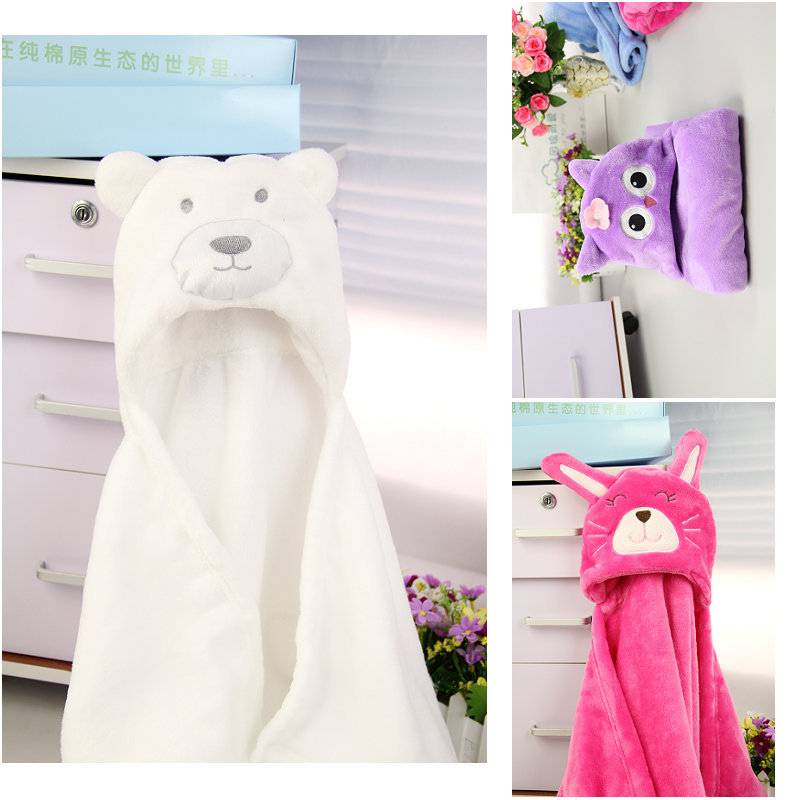 Comfortable Snug Animal Cartoon-Styled Blanket for Cold Winter Weather