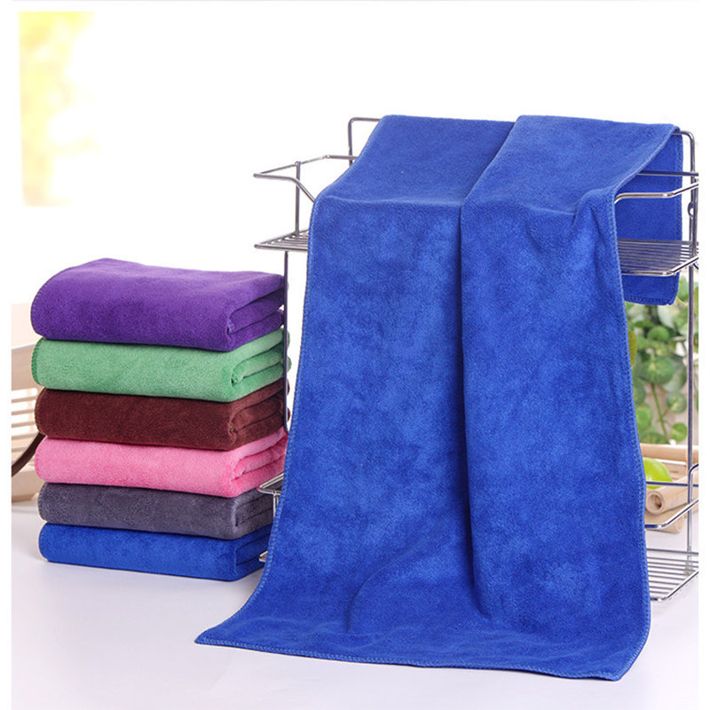 Colored Superfine Fiber Car Wash Towel