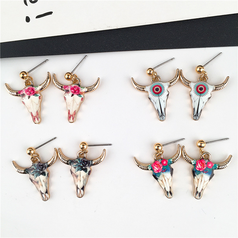 Trendy Bull Earrings for Women