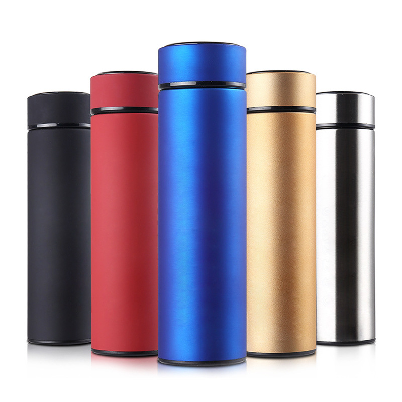 Single Colored Stainless Steel Vacuum Insulated Water Bottle